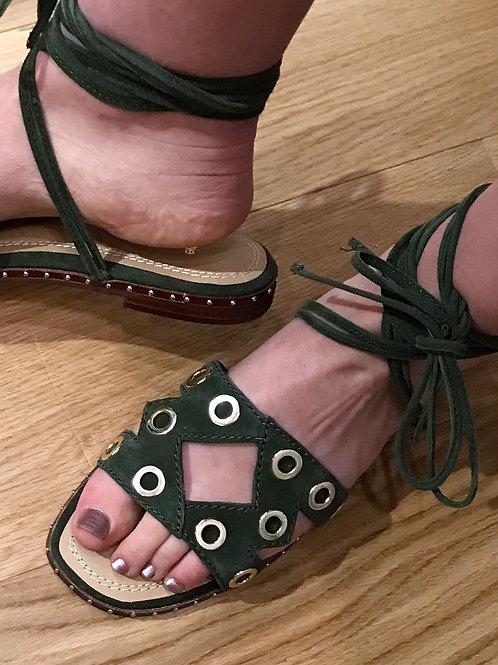 Maje - Nu-pieds rivets