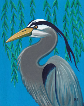 I will still look for you / Blue Heron