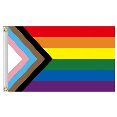 LGBTQ+ Pride Rainbow Flag Inclusive 90 X 150cm