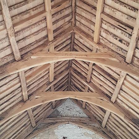 Corbel design roof replacement