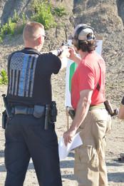 Police Firearsm training