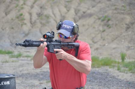 Carbine class with Law Enforcement