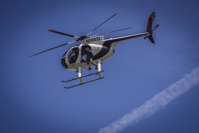 Helicopter Aerial Platform training