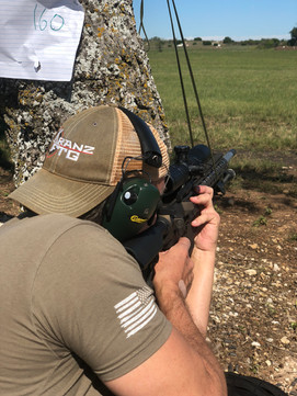 Standing Rifle shoots