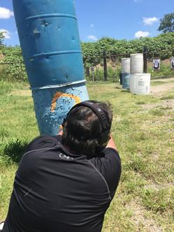 Barricase shooting