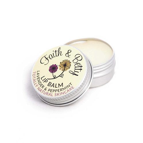 Lavender & Peppermint Lip Balm 10g