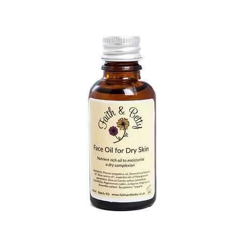 Face Oil for Dry Skin 30ml