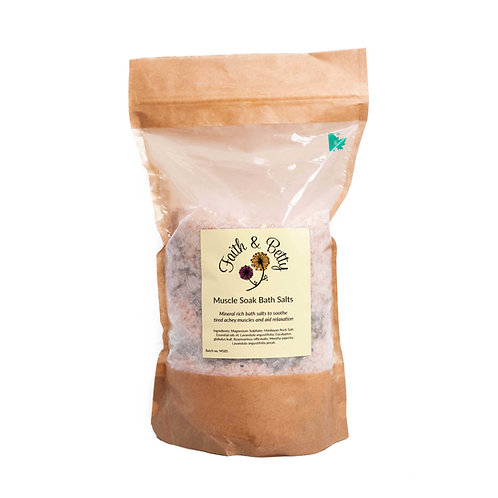 Muscle Soak Bath Salts 1000 g