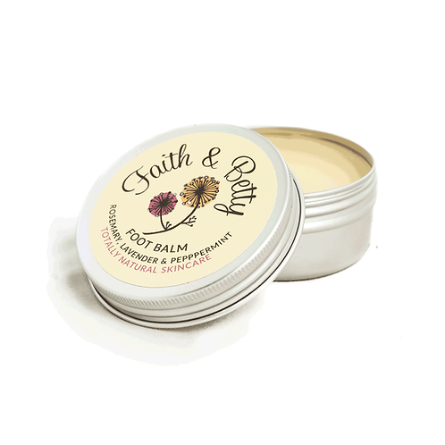 Rosemary, Lavender & Peppermint Foot Balm 50g