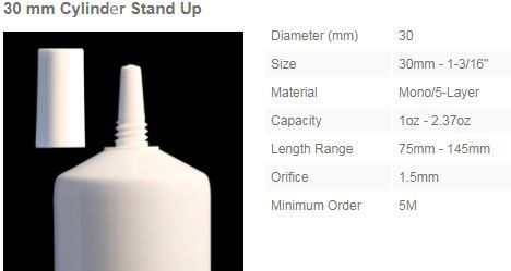 30mm Needle Noze Cylinder Stand Up New.j