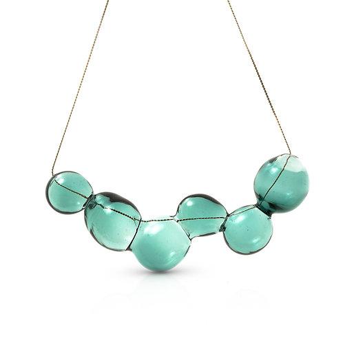 Light Green Glass Necklace