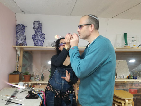 glass blwoing workshop and courses