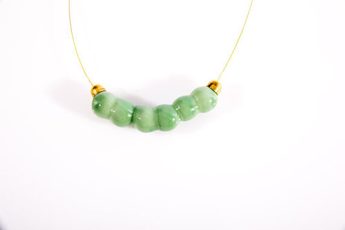 Light Green Glass necklace