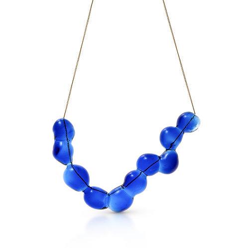 Light blue Glass Necklace