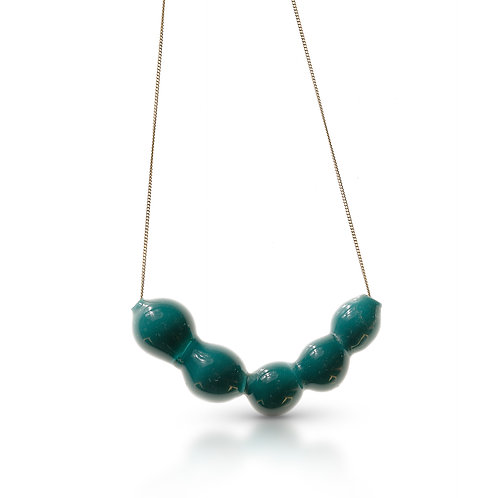 Turkise Glass Necklace