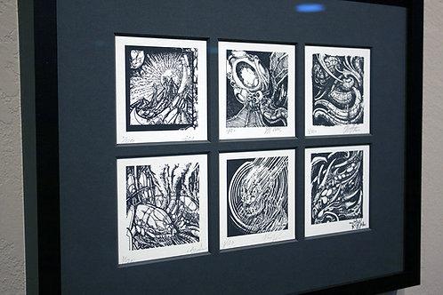 Letterpress Print Set