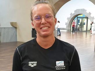 Claire Bourse a été élue meilleure performeuse de la saison 2019/2020