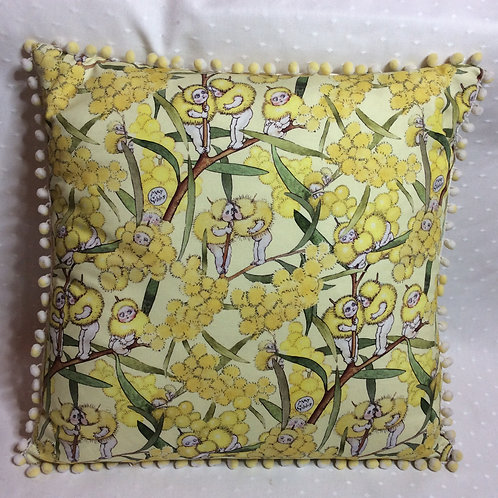 May Gibbs Linen Cushion Square