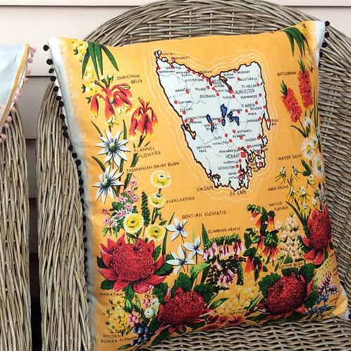 Tasmania Linen Cushion