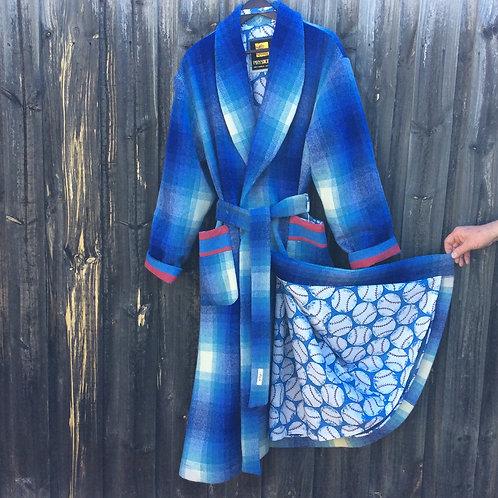 Men's Wool Dressing Gown