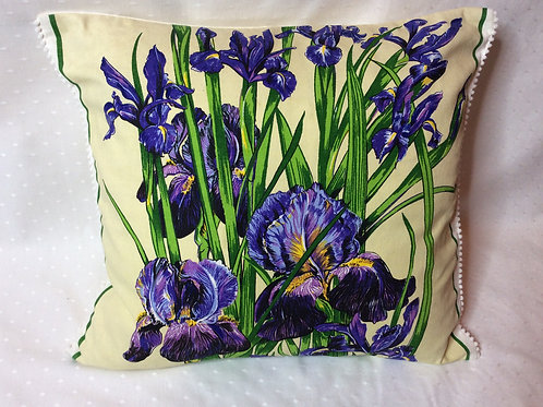 Iris Cotton Cushion