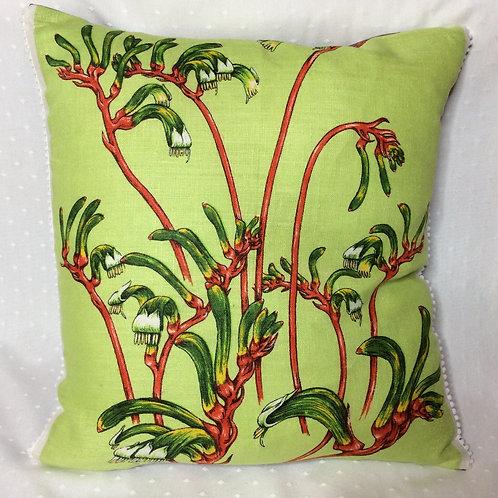 Kangaroo Paw Cushion