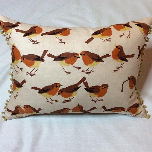 Bird Linen Cushion