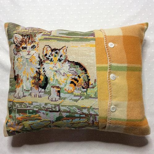 Tabby Tapestry Cushion