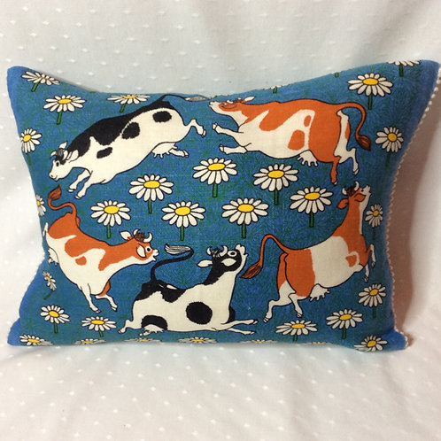 Cow Linen Cushion