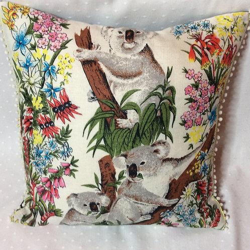Koala Linen Cushion