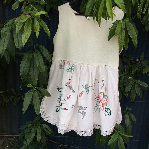Sleeveless Embroidered Top