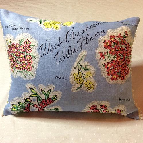 Wildflowers Linen Cushion