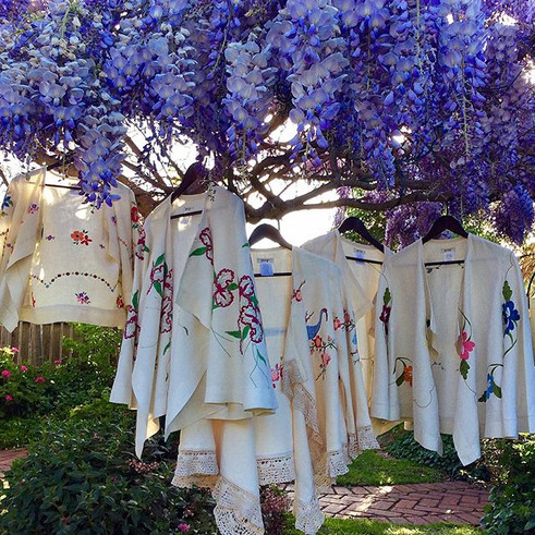 Embroidered Linen Jackets