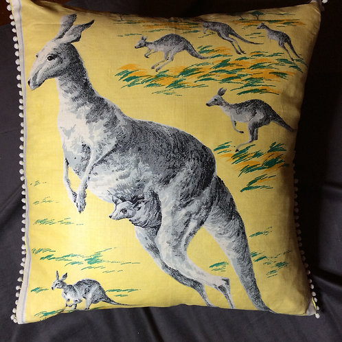 Kangaroo Cushion Reserved forKB