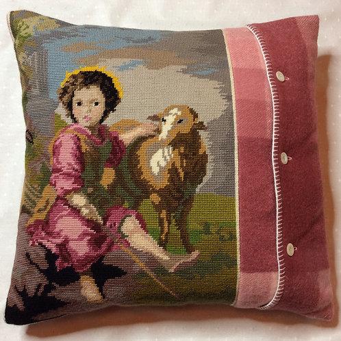 Shepherd Tapestry Cushion