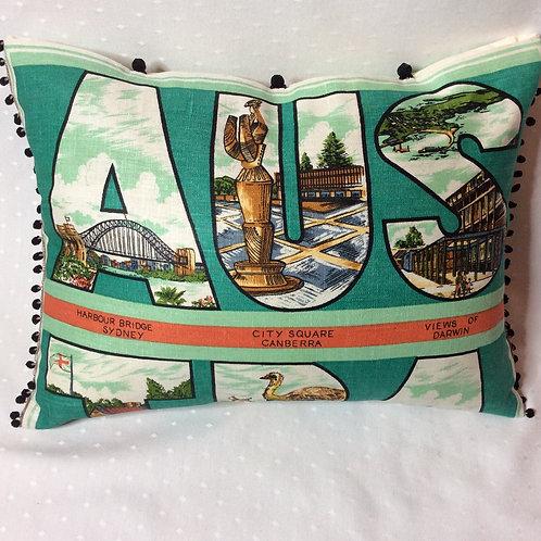 Australia Linen Cushion