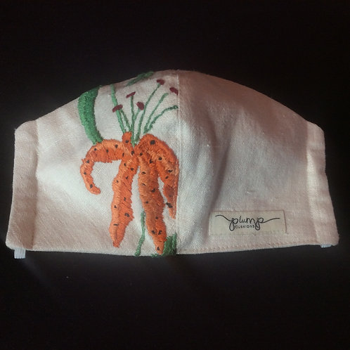 Fitted Facemask - Tiger Lily