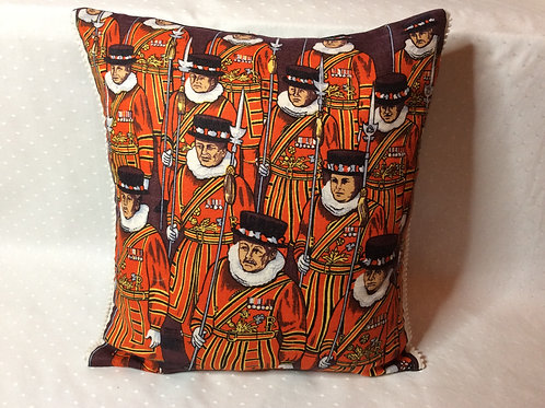Beefeater Linen Cushion
