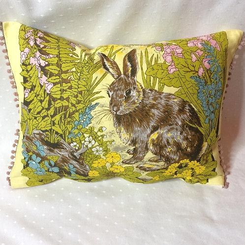Bunny Linen Cushion