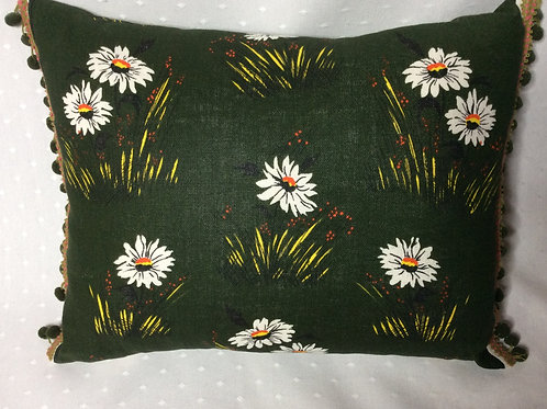 Daisy Linen Cushion