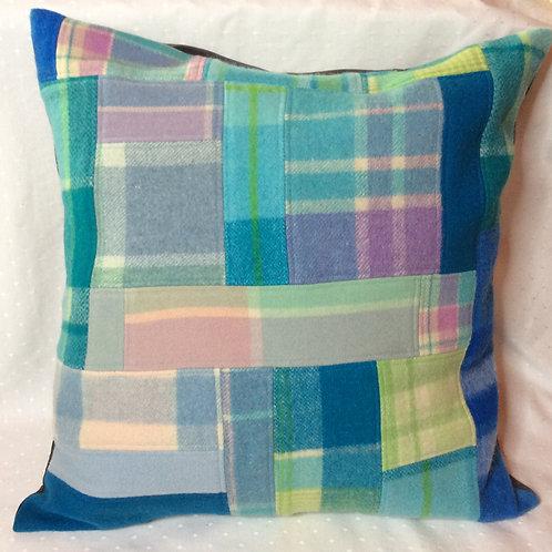 Pieced Wool Cushion