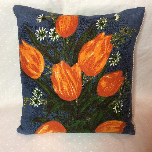 Tulip Linen Cushion