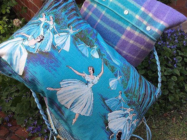 Swan Lake cushions