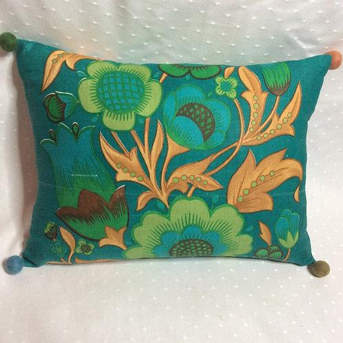 Retro Linen Cushion