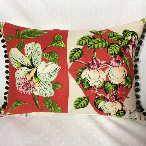 Fuchsia Linen Cushion