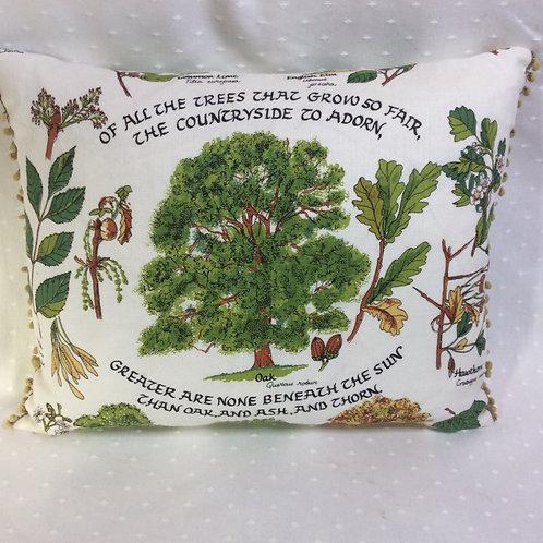 Tree Linen Cushion