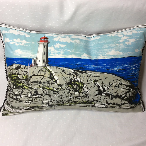 Lighthouse Linen Pillow