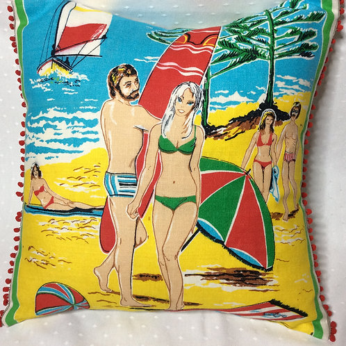 Beach Linen Cushion