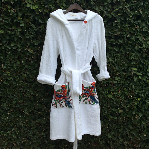 Cotton Toweling Robe 4