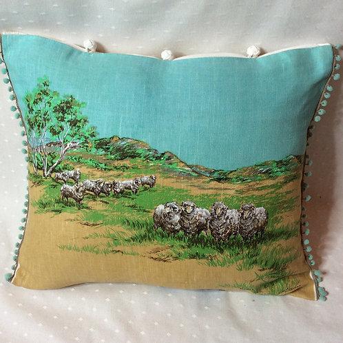 Aus Sheep Dogs Cushion